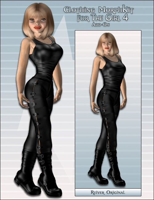 Clothing MorphKit for the Girl 4 AddOn