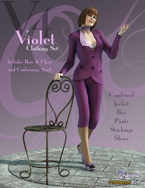 Violet Clothing Set