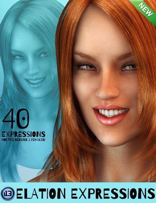 i13 Elation Expressions for Genesis 2 Female(s)