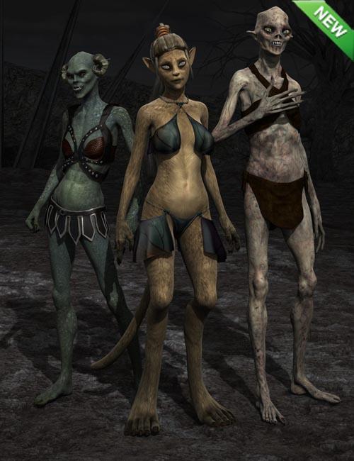 Wondrous Creatures Genesis 2 Female(s)