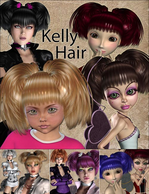 Kelly Hair V4A4G4K4, Mavka & Natu