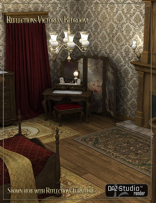 Reflections Victorian Bedroom