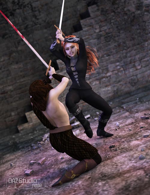 Milady's Blade for Genesis 2 Female(s)