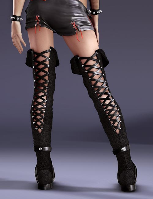 Thigh High Boots for V4