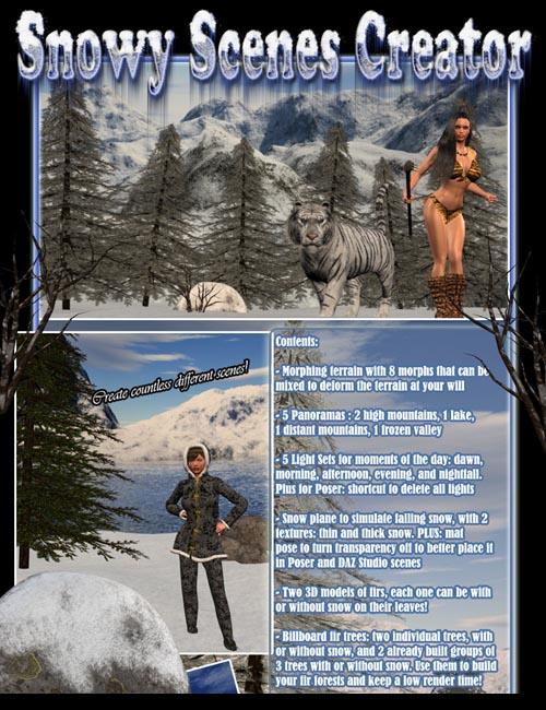 Snowy Scenes Creator