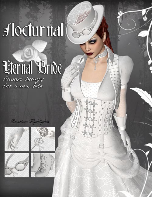 Nocturnal - for SteamPunk Outfit Complete