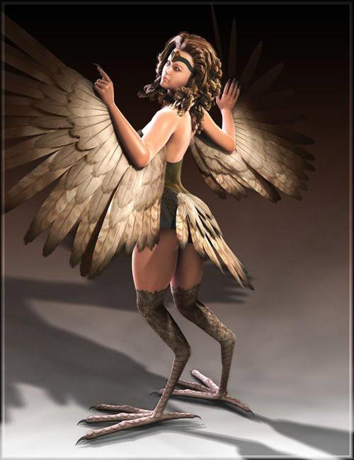Creatura- The Harpy for Victoria 4