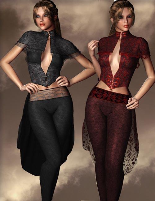 Black Phoenix Outfit