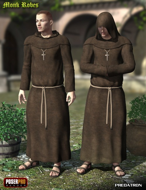Monk Robes for M4