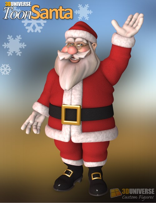 Universe Toon Santa [ Iray UPDATE ]