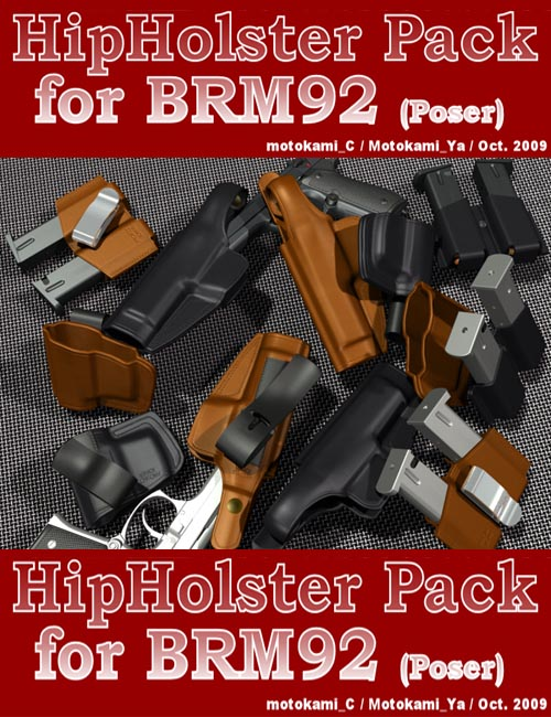 HipHolster Pack for BRM92