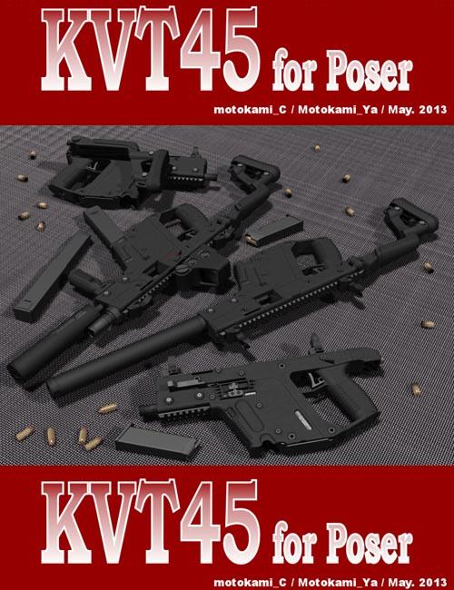 KVT45 for Poser