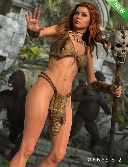 Jungle Girl for Genesis 2 Female(s)