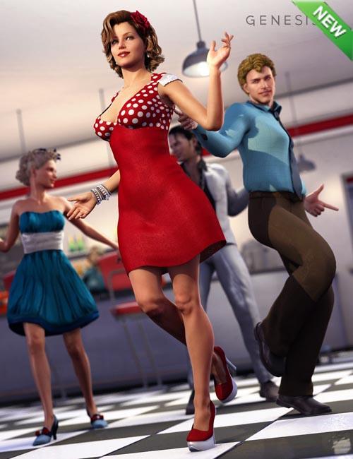 Winston Dress for Genesis 2 Female(s)