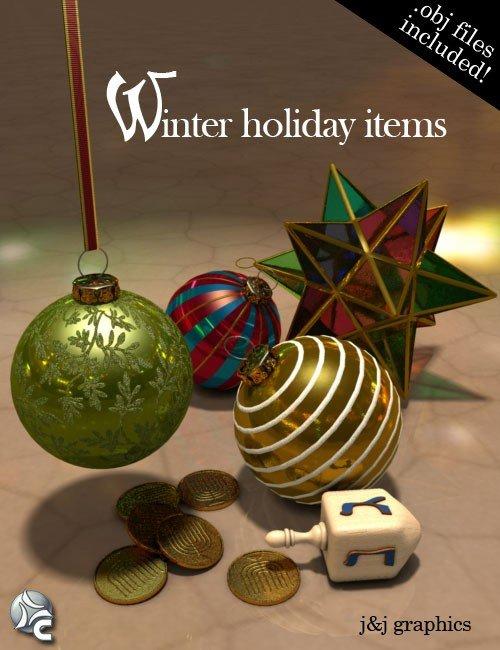 Winter Holiday Items