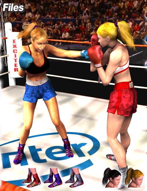V4A4 Boxing Set