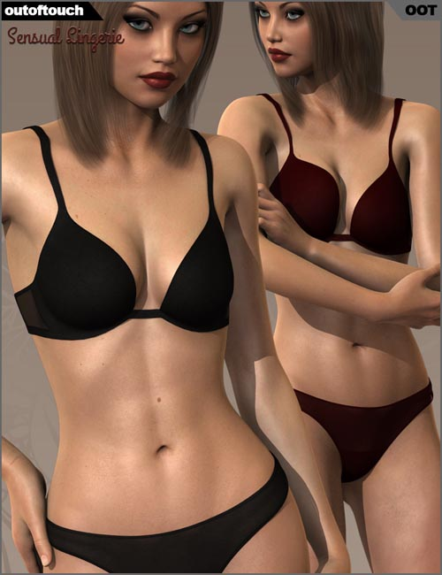 Sensual Lingerie for Genesis 2 Female(s)