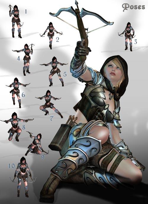 Akuma Hanta Fantasy Outfit V4