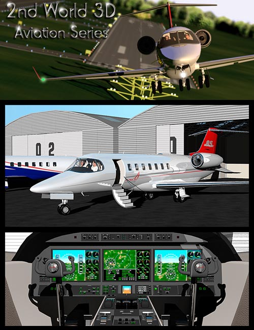 Twin engine private jet 85