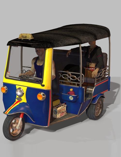 Traditional Tuktuk