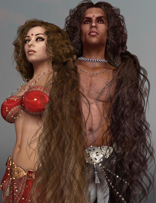 SAV Semiramis Hair