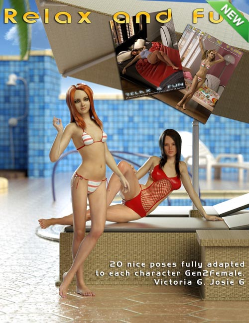 Relax and Fun for Genesis 2 Female(s)