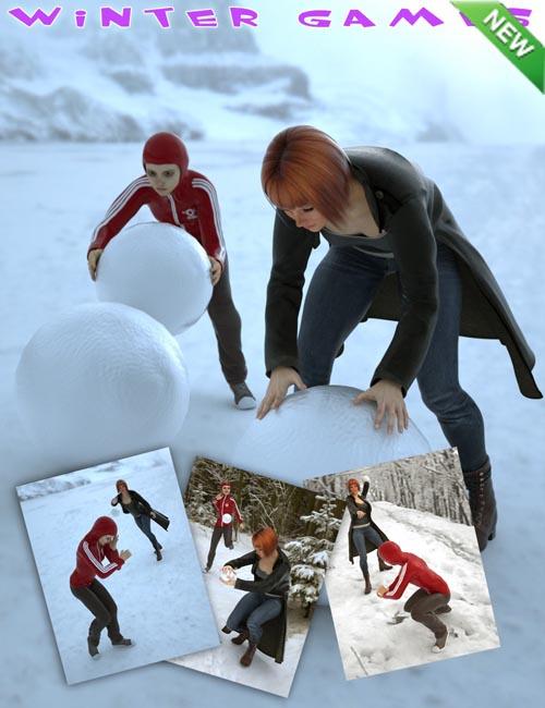 Winter Games for Genesis 2 Female(s)
