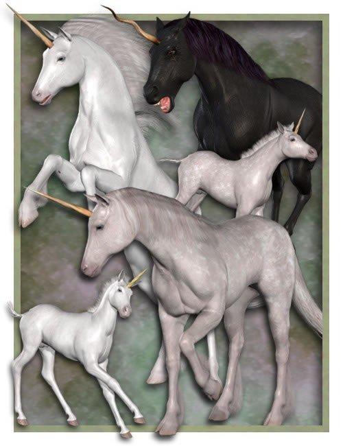Millennium Horse Unicorn
