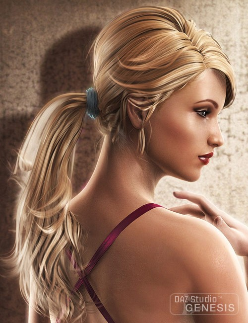 Victoria 5 Elite Ponytail Hair