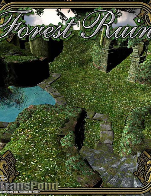 Forest Ruin by TransPond