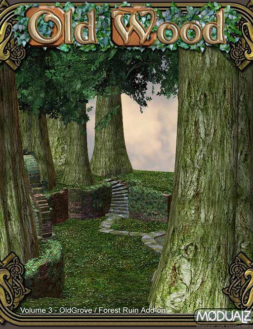 RDNA Old Wood Vol 3 - Old Grove / Forest Ruin Add-On