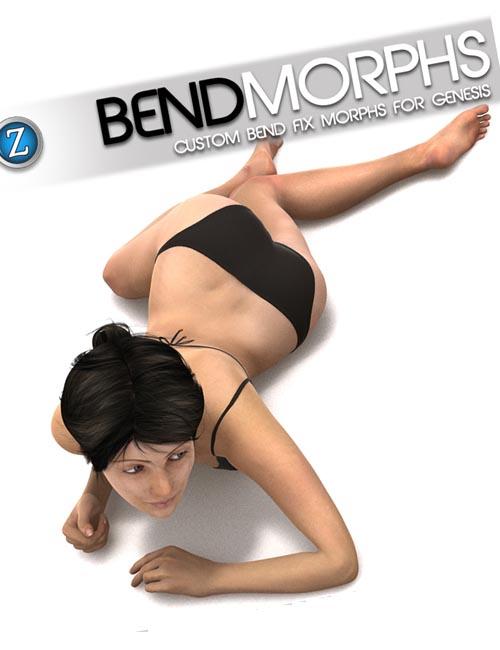 Bend Morphs For Genesis