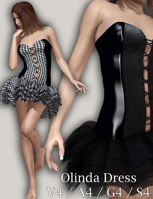 Olinda Dress V4/A4/G4/S4
