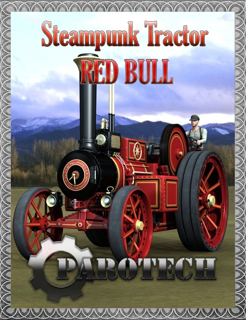 Steampunk Tractor