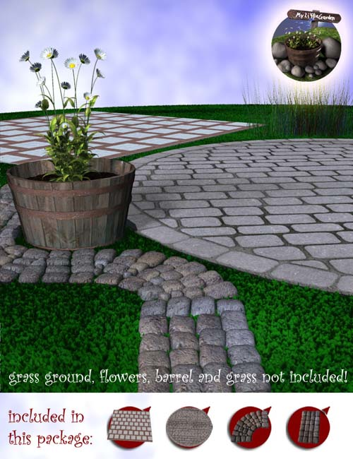 My Little Garden - Patios N Pavings