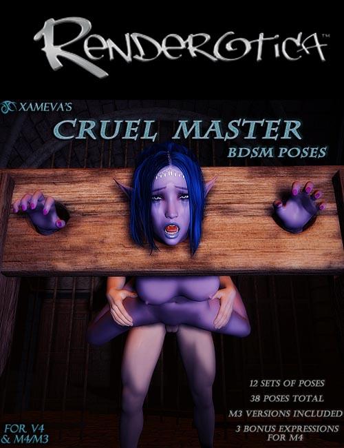 Xameva's Cruel Master - BDSM Poses