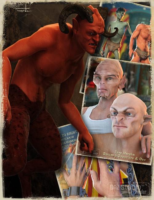 Michael 4 Creature Creator Morphs