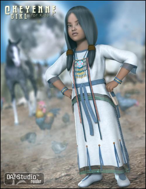 Cheyenne Girl for Kids 4
