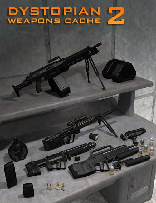 Dystopian Weapon Cache 2