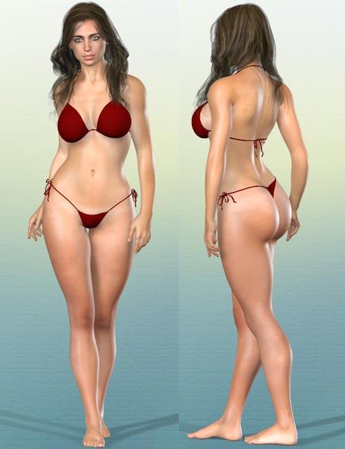 Genesis 2 Female Shapes: Carmen