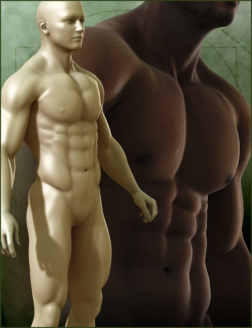 Michael 4 Muscle Morphs