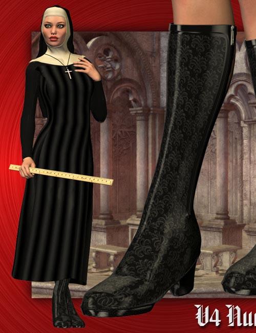 V4 Nun Outfit