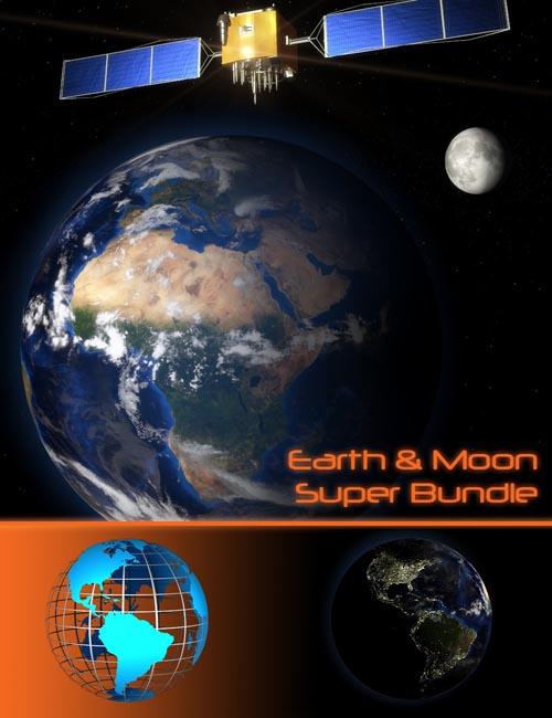 Earth & Moon Super Bundle
