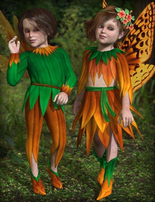 Wild Flowers for Fairy Kids