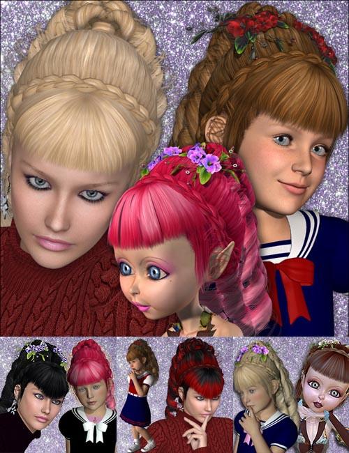 Velvet Hair V4, A4, G4,K4 & Mavka