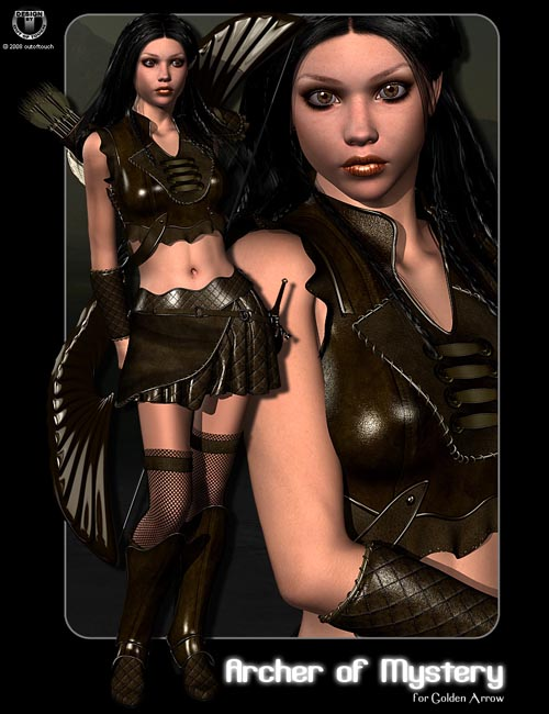 Archer of Mystery for Golden Arrow by Val3dArt