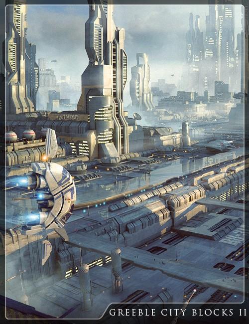 Greeble City Blocks 2