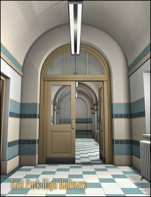 East Park High Hallways