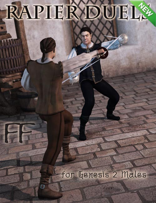 Rapier Duels for Genesis 2 Male(s)
