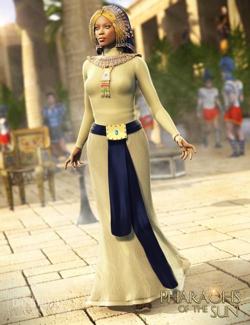 Pharaohs of the Sun for Genesis Female